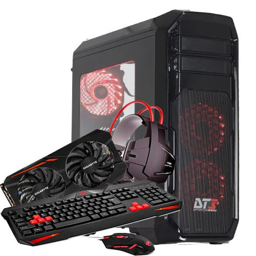 Pc Gamer Intel Dual Core G5400, 8GB, 1Tb, Rx570 4GB 256Bits, 8Geração, Heron