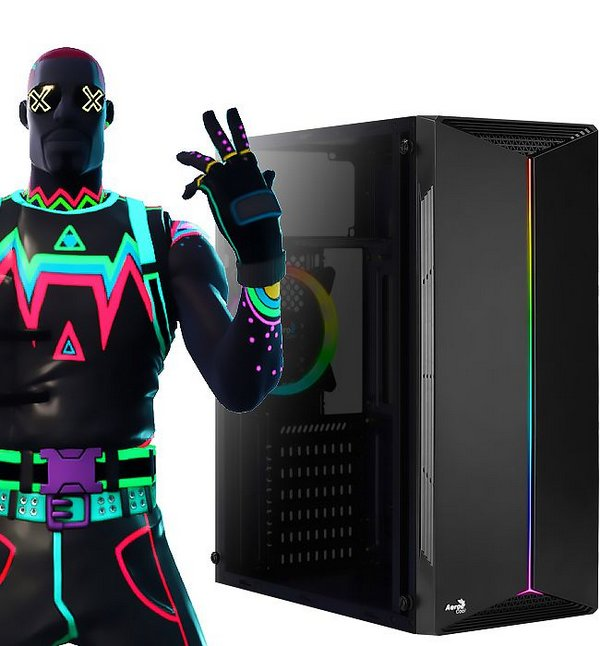 PC Gamer Intel Dual Core G6400 8GB SSD 256GB Rx550-4GB 10ªGeração