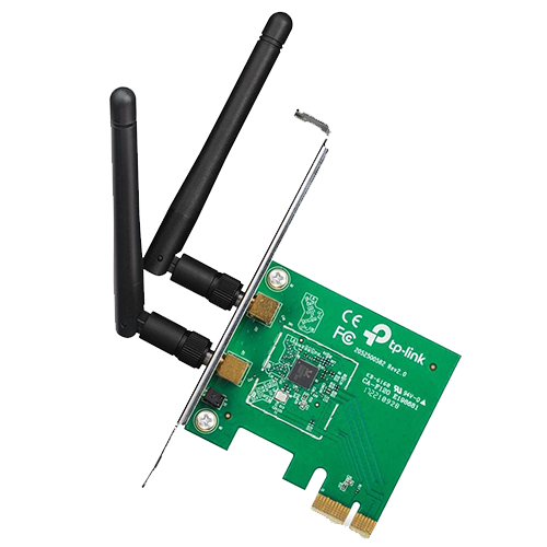 Placa de Rede Wireless PCIexpress 02 Antenas TPLINK WN881ND