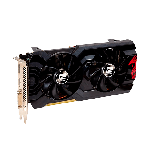 Placa de Vídeo 4GB DDR5 RX570 256Bits Redragon