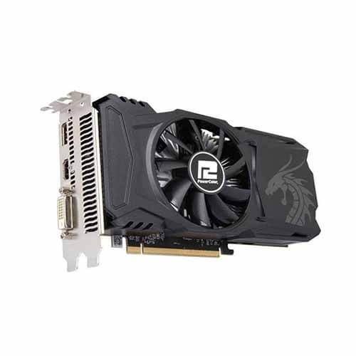 Placa de vídeo Power Color Rx560 Red Dragon 4GB DDR5 128B