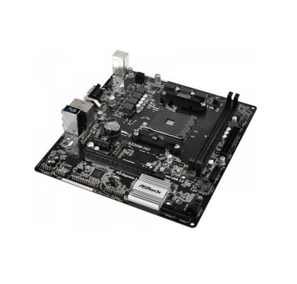 Placa Mae AMD DDR4 A320M-HD Asrock