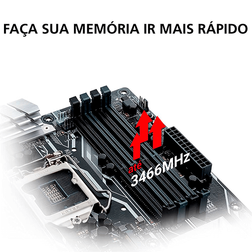 Placa Mae Gamer AMD AM4+ B450M Asus Prime Gaming/BR
