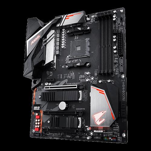 Placa Mae Gamer AMD B450 Gigabyte Aorus Pro