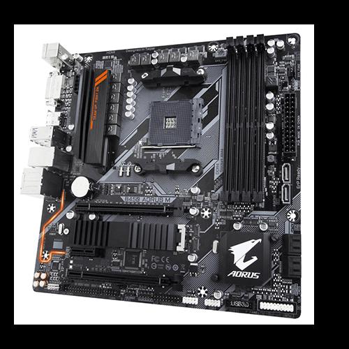 Placa Mãe Gamer AMD B450M Aorus Gigabyte