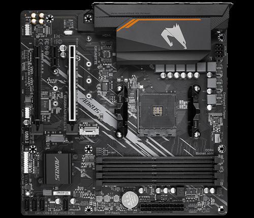 Placa Mae Gamer Gigabyte AMD B550M  Aorus Elite DDR4 AM4 Micro ATX