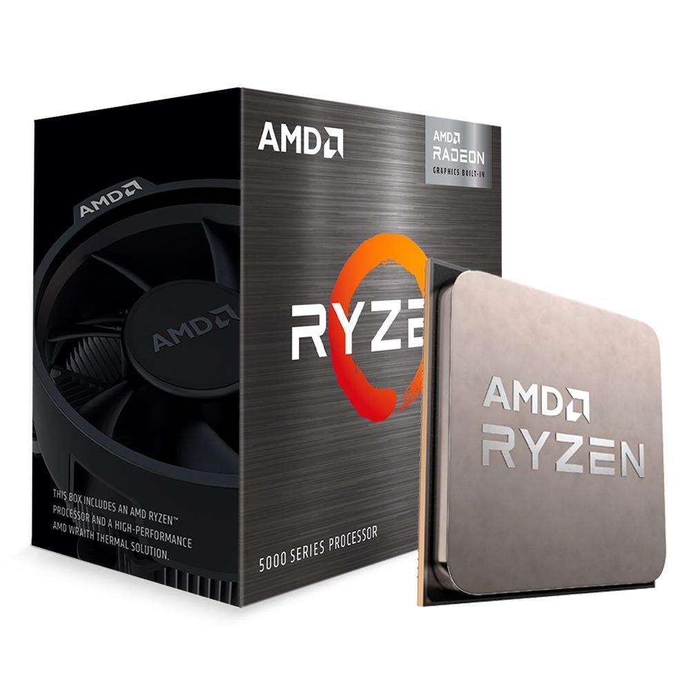 Processador AMD Ryzen 5 5600G, 3.9GHz, AM4, Vídeo Integrado, 6 Núcleos - 100-100000252BOX