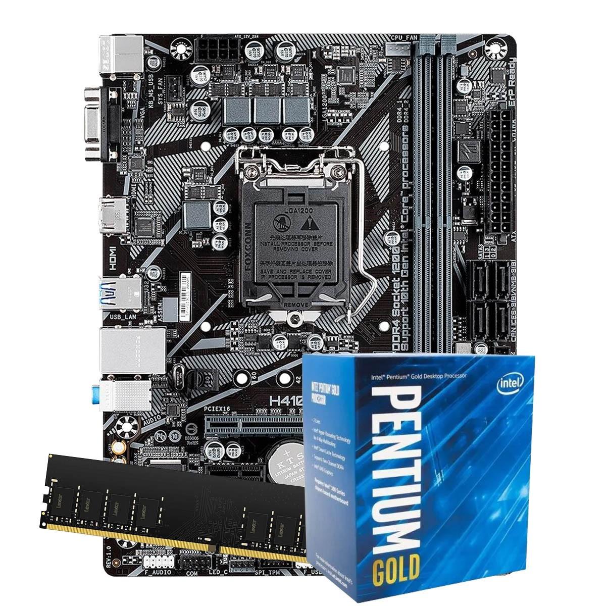 Processador Intel Dual Core G6400 10Geração  4.0Ghz