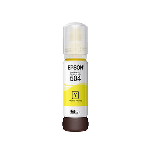Refil de Tinta Epson ST504420 Yellow 70ML L4150
