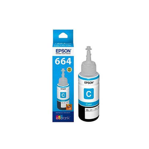 Refil de tinta Epson T664220 Cyan