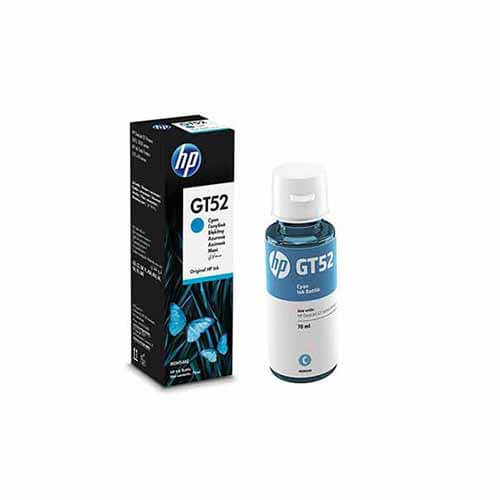 Refil de tinta HP GT52 Ciano GT5822