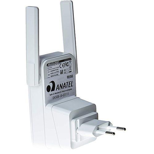 Repetidor de Tomada 300MBPs 2 Antenas RE056 Multilaser