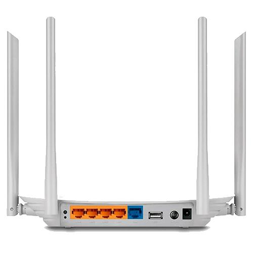 Roteador Archer C5 04 antenas Dual Band AC1200Mbps TPLINK
