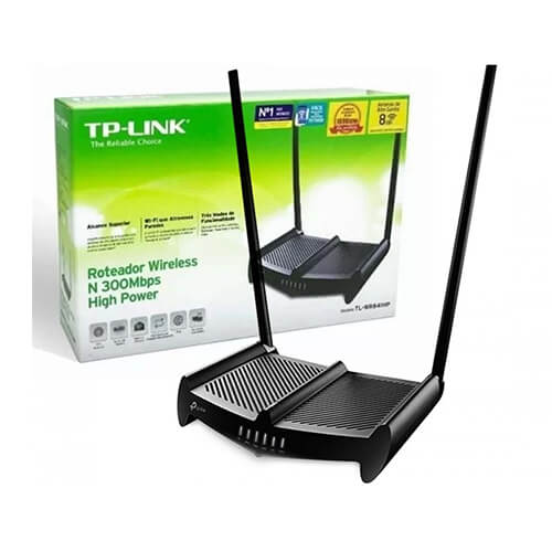 Roteador WL02ANT TP Link WR841HP