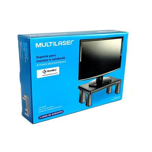 Suporte para monitor mesa quadrado AC125 Multilaser