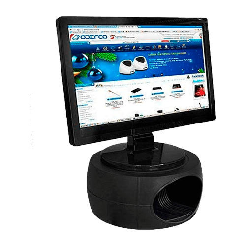 Suporte para Monitor Oval PVC  SM100031 Mastcmol