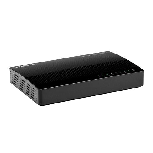 Switch 08Portas 10/100/1000 INTELBRAS SG8000C