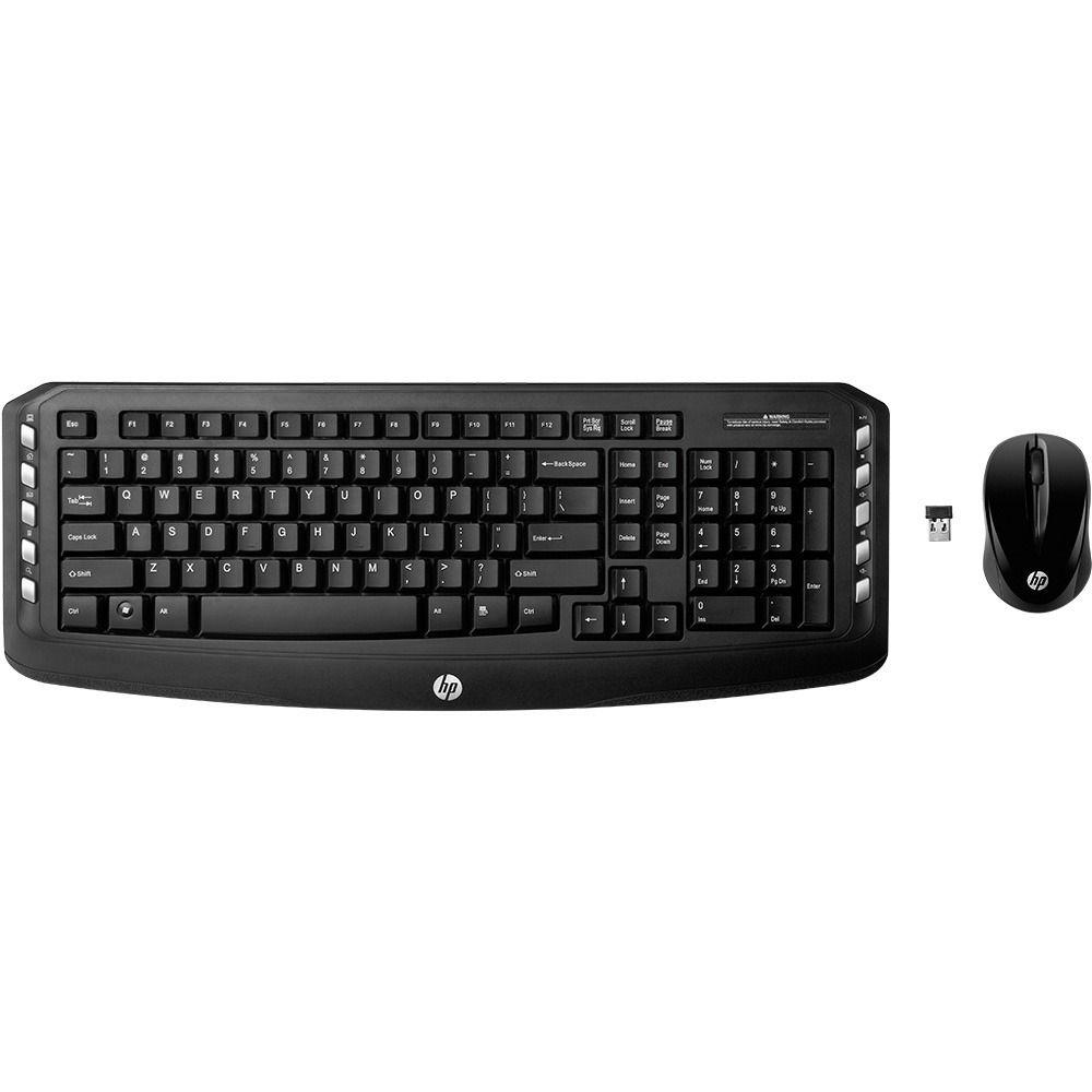 Teclado e Mouse Sem Fio HP LV290 PRETO