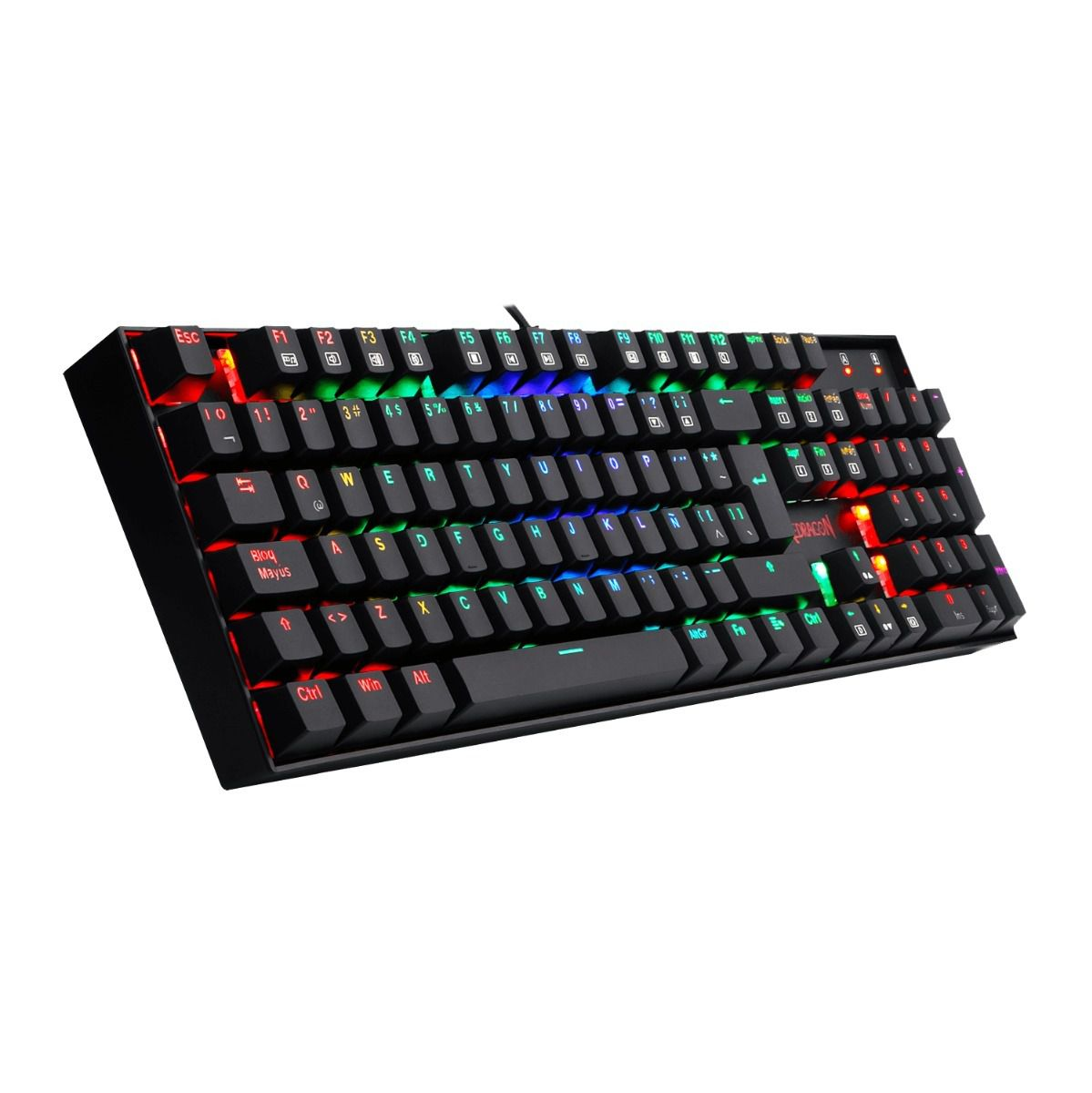 Teclado Gamer Redragon Mitra Switch Outemu Blue K551 Mecânico