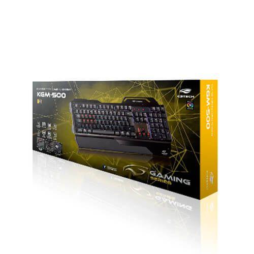 Teclado Gamer USB KG-M500BK C3Tech