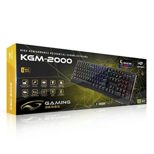 TECLADO GAMER USB KG-2000BK C3TECH