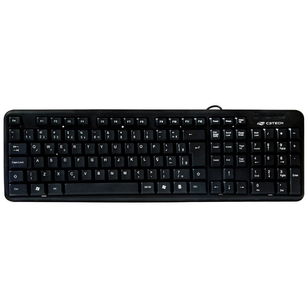 Teclado USB KB11BK C3Tech