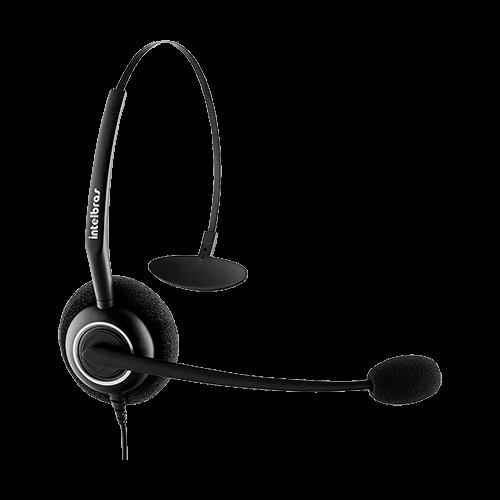 Telefone Headset INTELBRAS HSB50 Preto