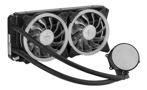 Water Cooler para CPU Rgb240 Dex Dx-240A Preto