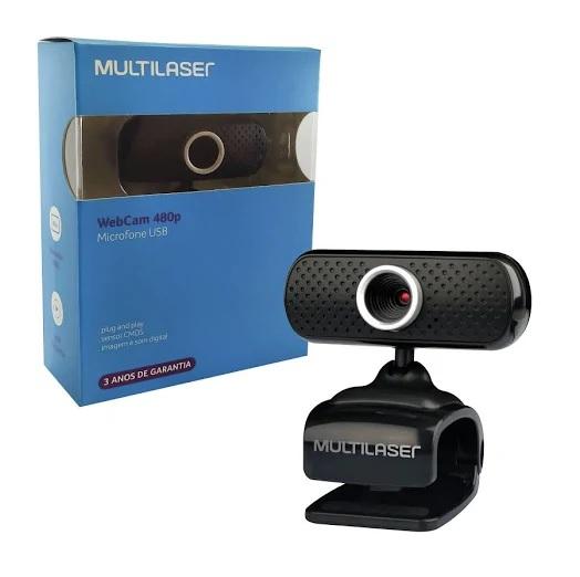 Webcam  480P W051 Multilaser