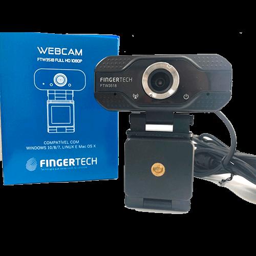 Webcam Fingertech 1080K Fhd FTW3518