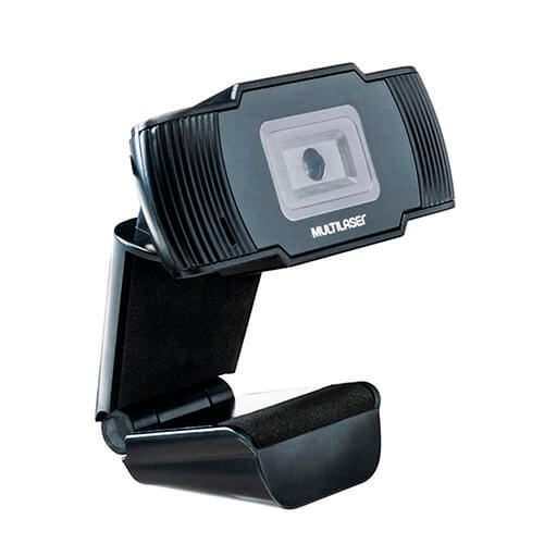 Webcam Office HD 720P Usb Preta Multilaser AC339