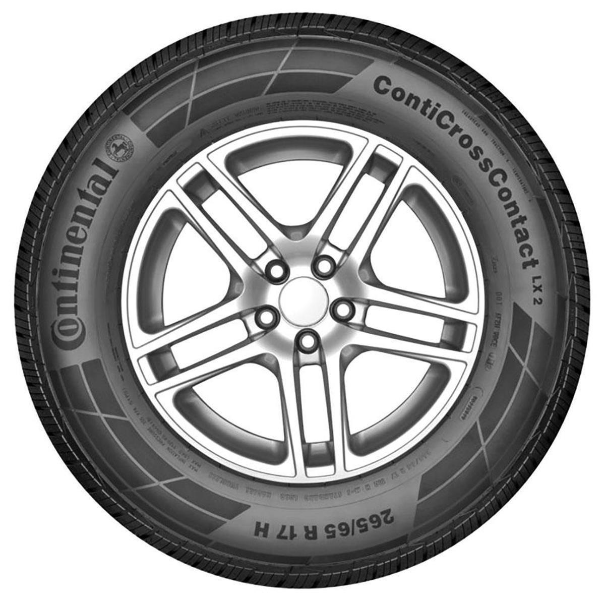 Pneu Continental 265/65R17 112H FR ContiCrossContact LX 2