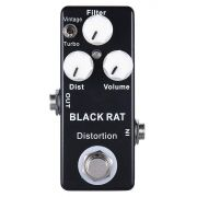 Pedal de Guitarra Mosky Black Rat Distortion