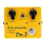 Pedal Digital Joyo Soloman Bass Overdrive