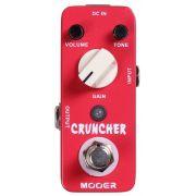 Pedal de Guitarra Mooer Cruncher Overdrive