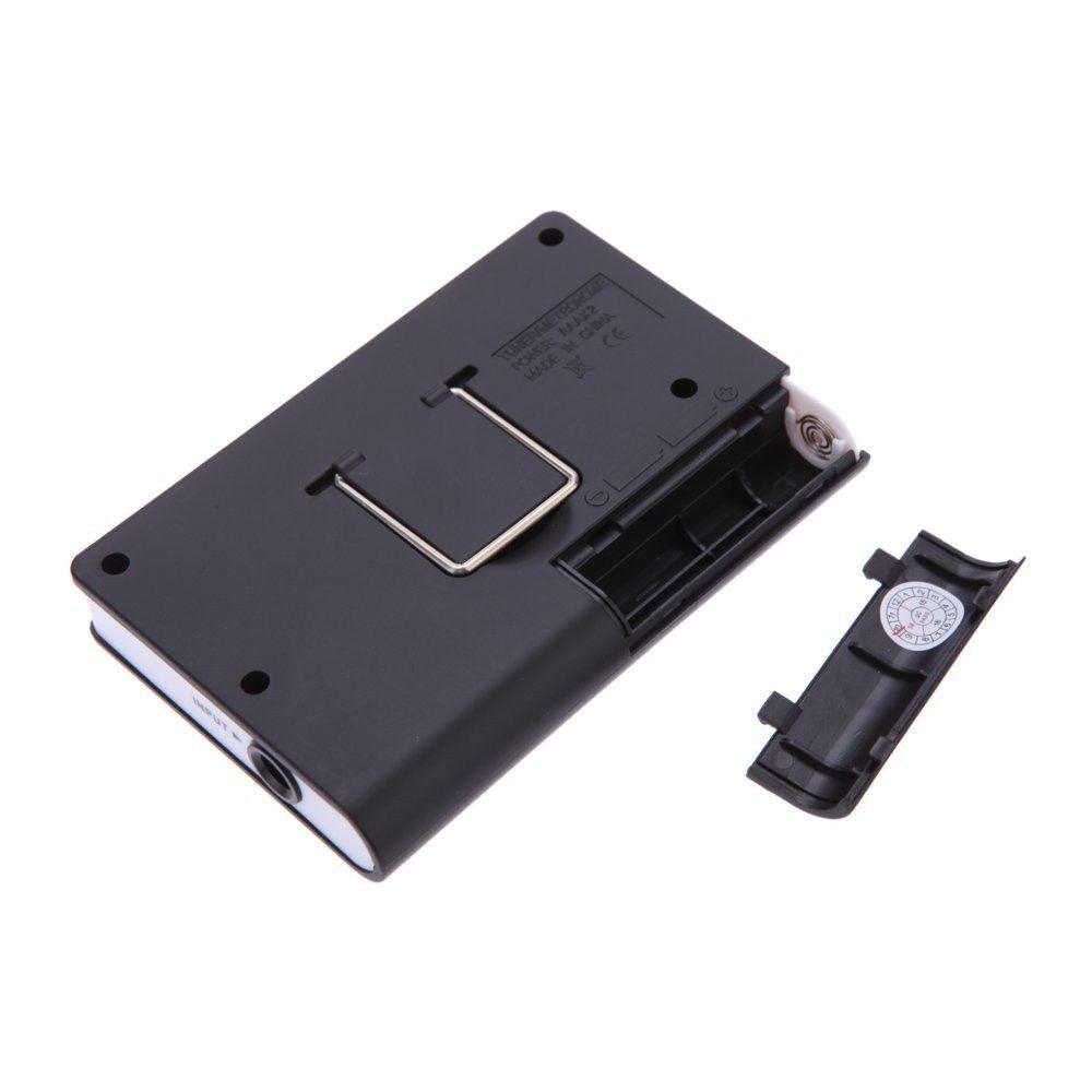 Afinador Metronomo Aroma AMT-560 para Guitarra Violão e Contrabaixo