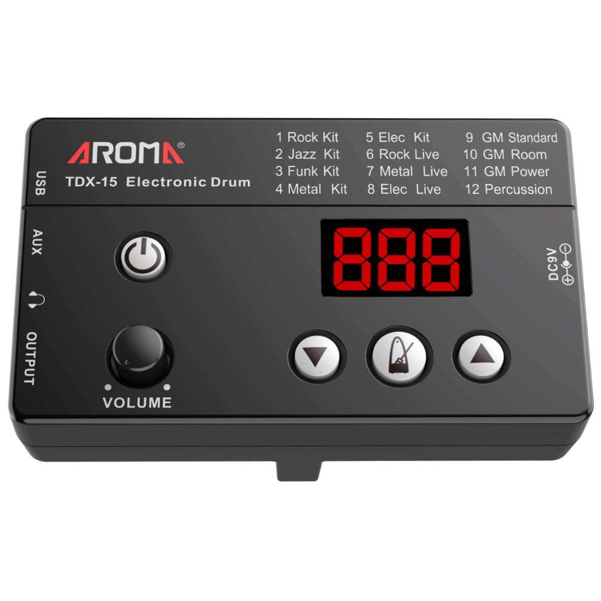 Bateria Eletrônica Aroma TDX-15