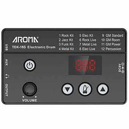 Bateria Eletrônica Aroma TDX-16S