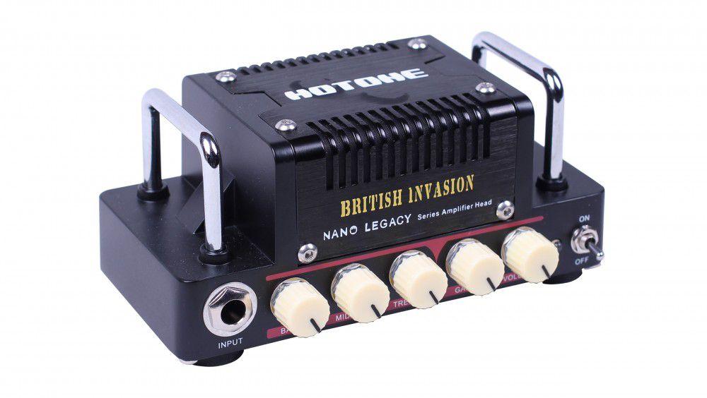 Cabeçote de Guitarra Hotone British Invasion