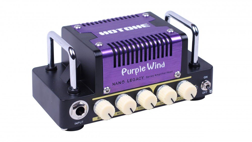 Cabeçote de Guitarra Hotone Purple Wind