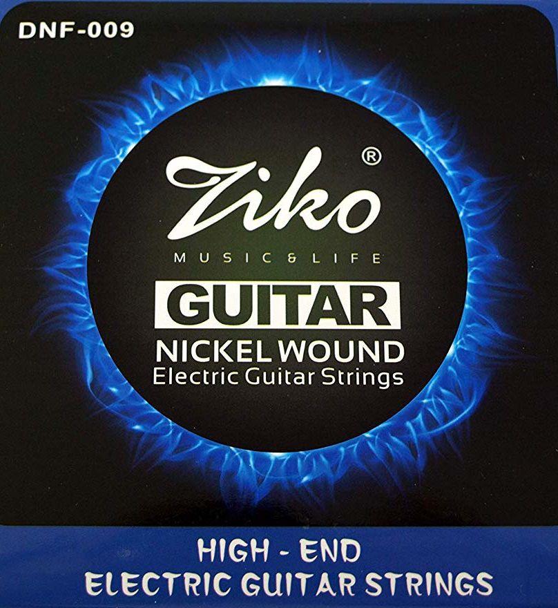 Encordoamento Ziko em Aço 0.09 para Guitarra DNF-009