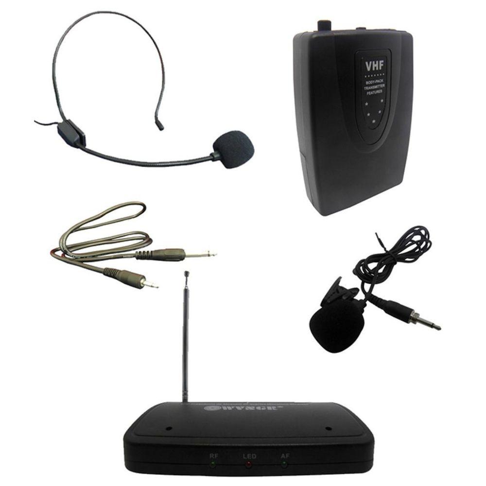 Microfone de Lapela WVNGR WG-4001D