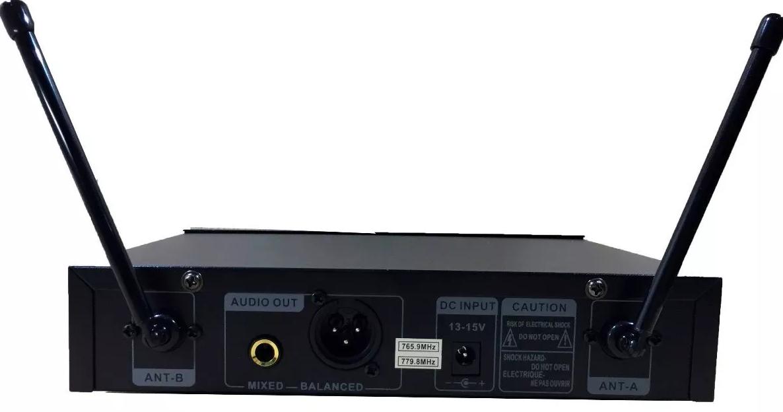 Microfone sem Fio WVNGR WG-2006