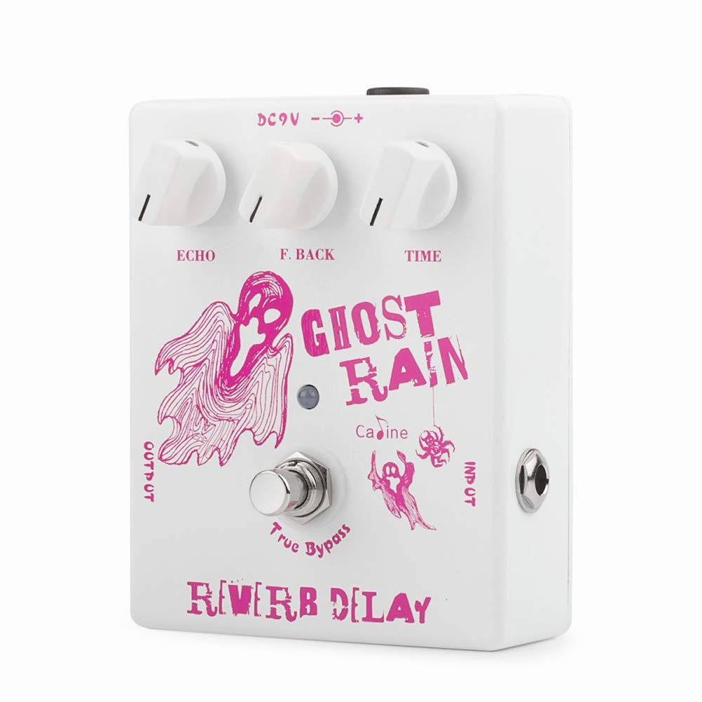 Pedal de Guitarra Caline Ghost Rain Reverb Delay