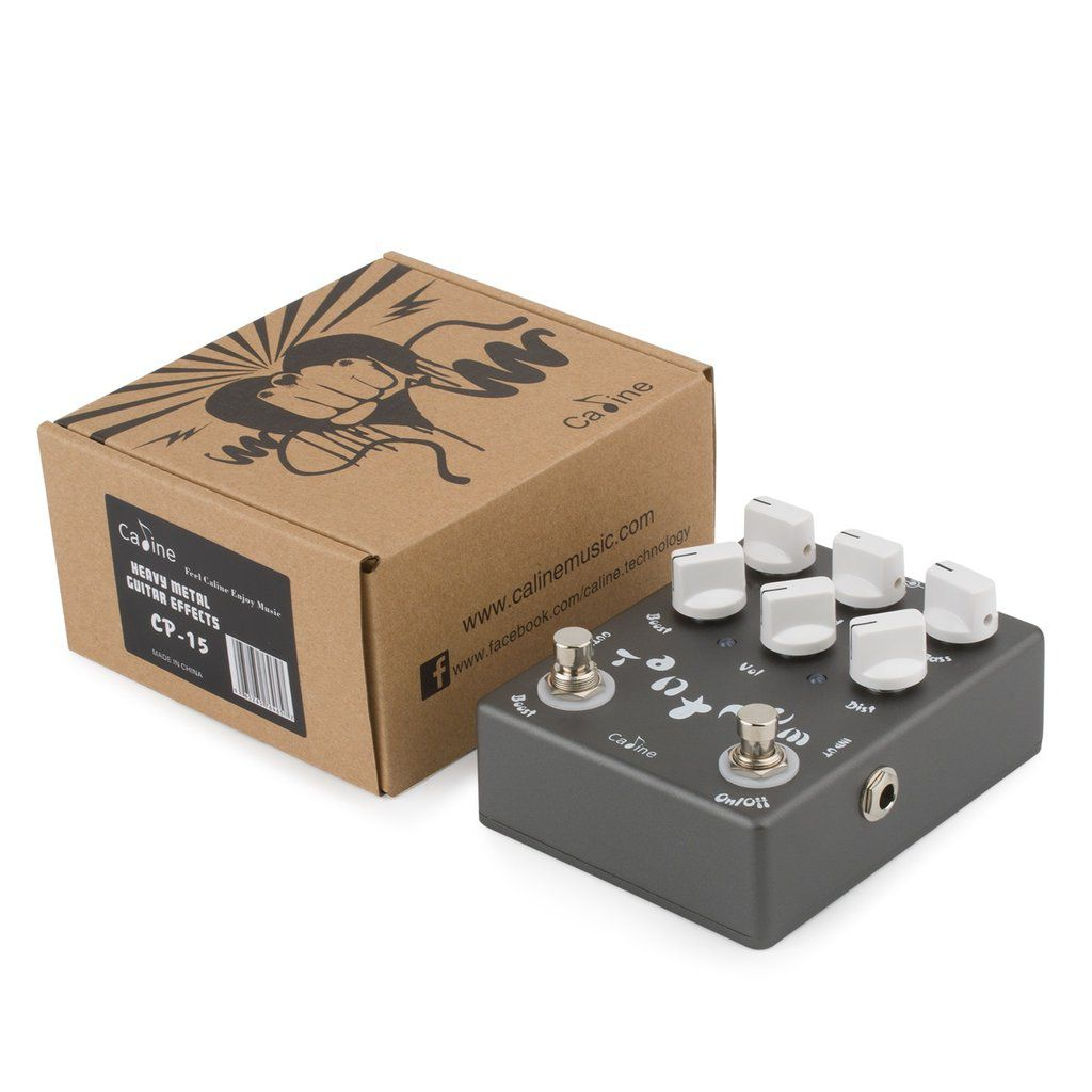 Pedal de Guitarra Caline Heavy Metal Tantrun Distortion