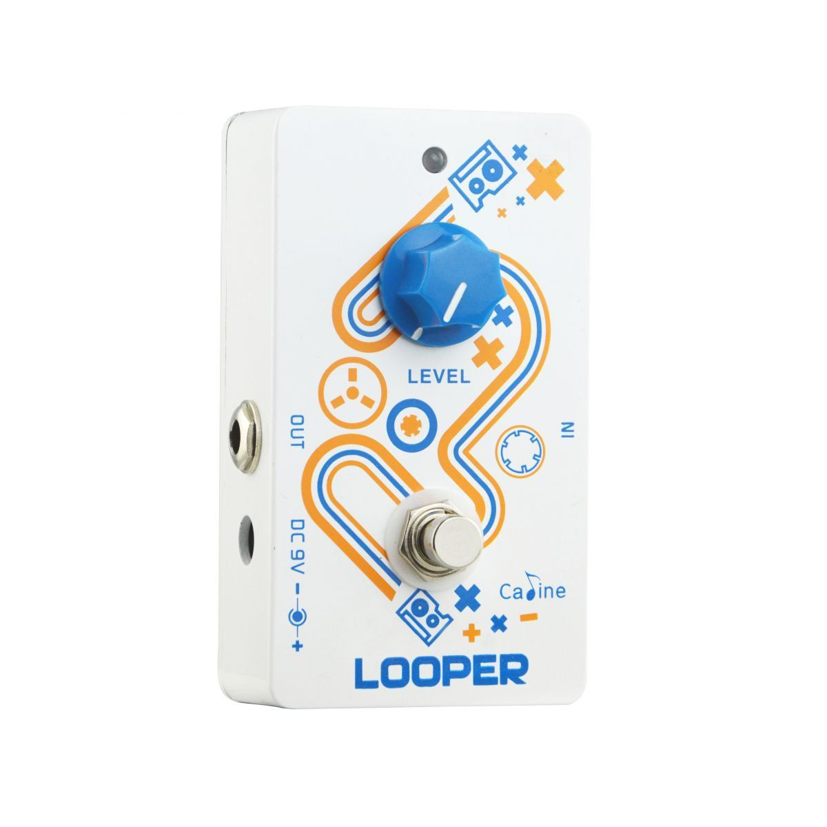 Pedal de Guitarra Caline Loop Looper