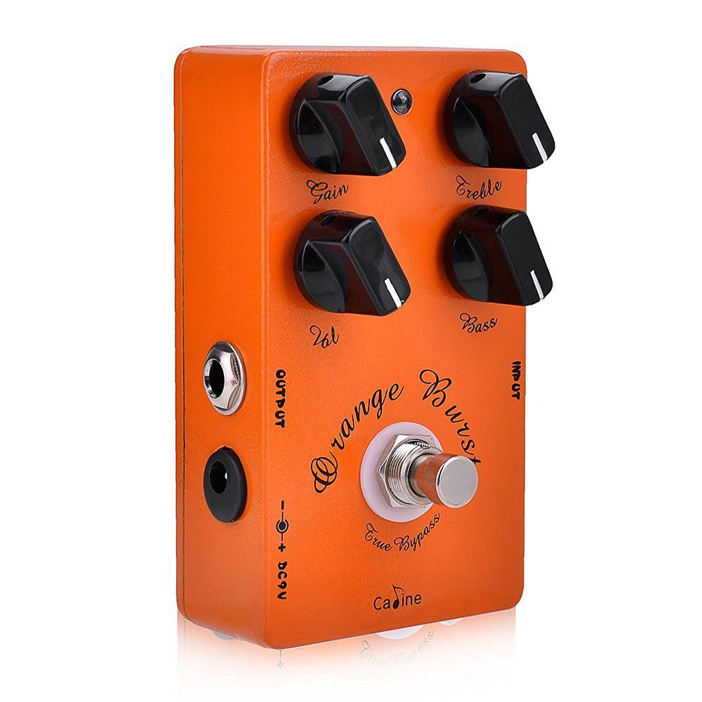 Pedal de Guitarra Caline Orange Burst Overdrive