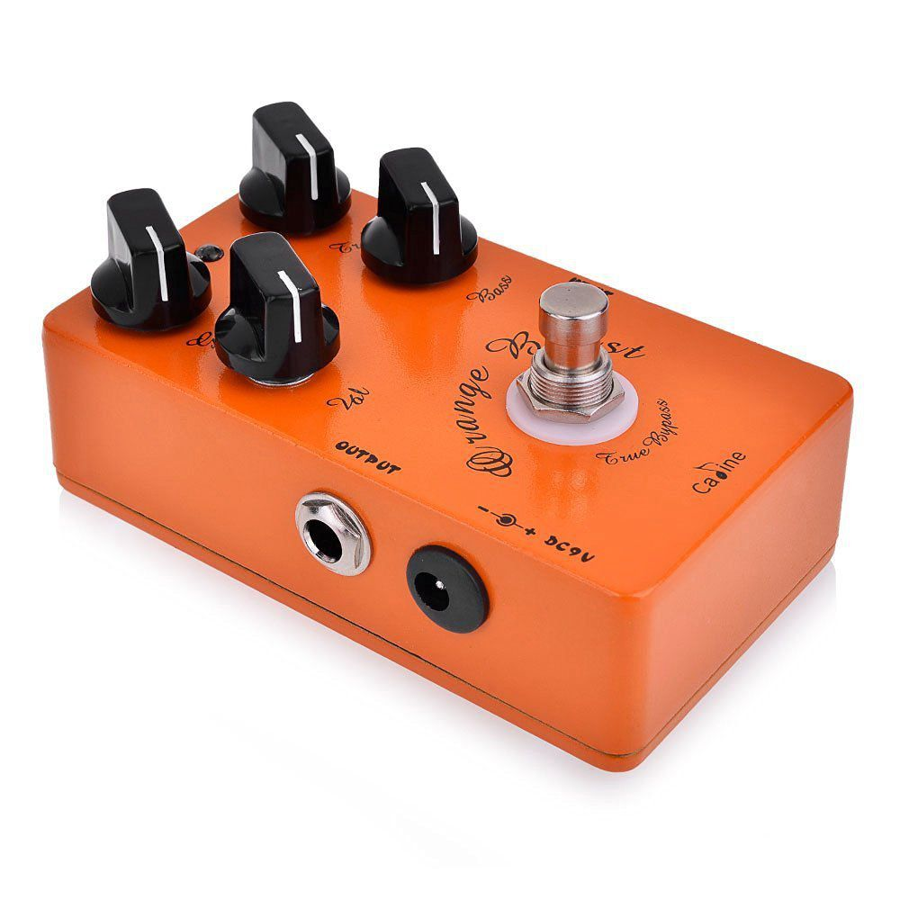 Pedal de Guitarra Caline Orange Burst Overdrive