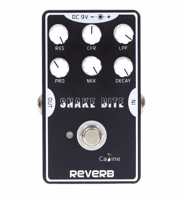 Pedal de Guitarra Caline Snake Bite Reverb