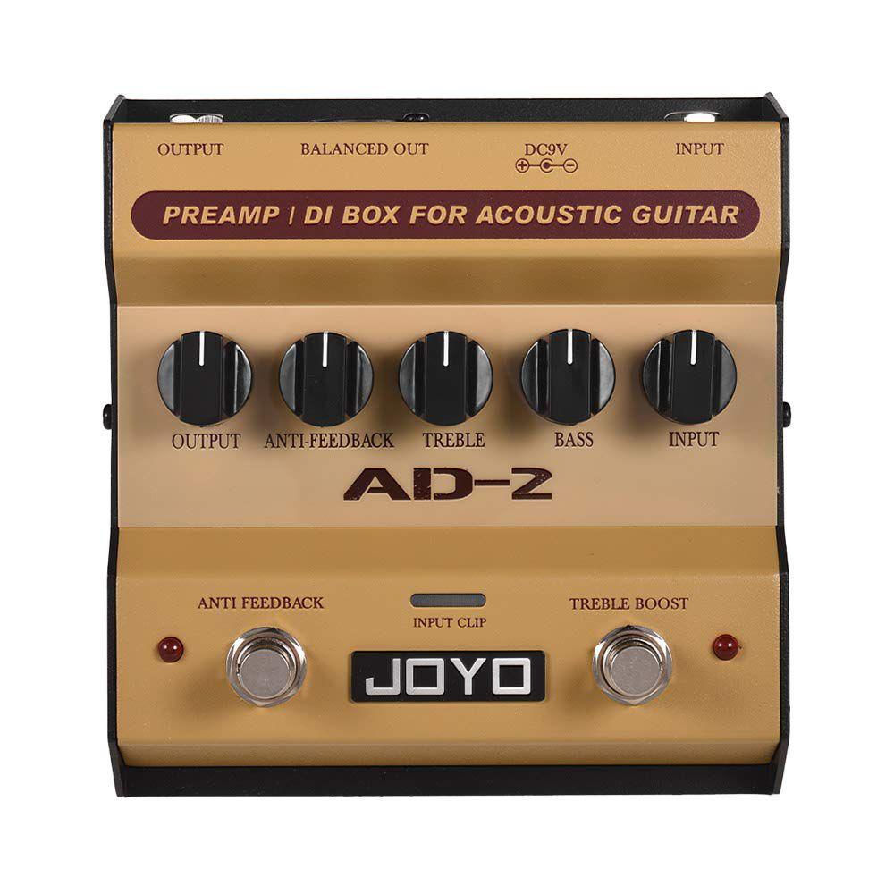Pedal de Violão Joyo Acoustic Guitar Preamp